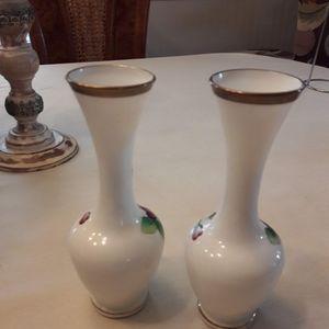 norcrest Accents - Pair of vintage norcrest bud vases